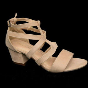 Chase & Chloe Womens Morgan Gladiator Sandal 6 New